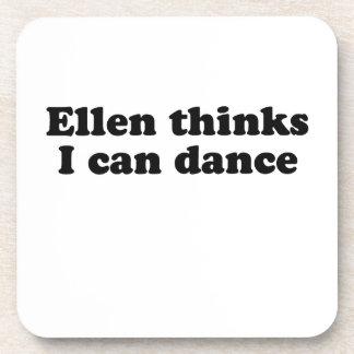 Ellen thinks I can dance Beverage Coaster