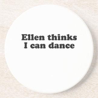 Ellen thinks I can dance Drink Coaster