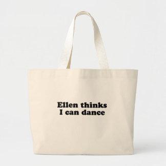Ellen thinks I can dance Jumbo Tote Bag