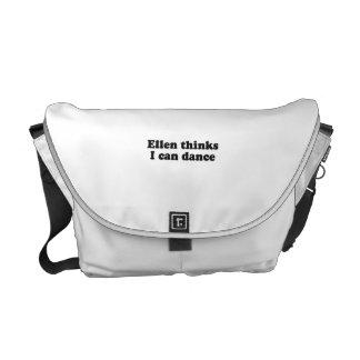 Ellen thinks I can dance Messenger Bags