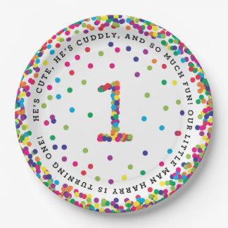 "Ellen's custom 9"" plates"