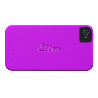 Ellen's Full Purple iPhone 4 case