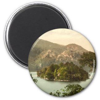 Ellen's Isle, Loch Katrine, Trossachs, Scotland Magnet