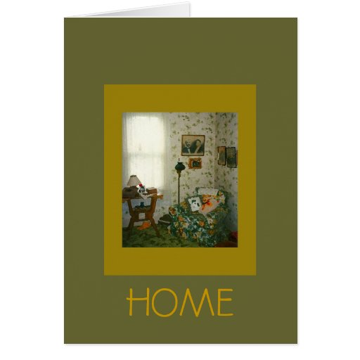 Ellen's living room stationery note card