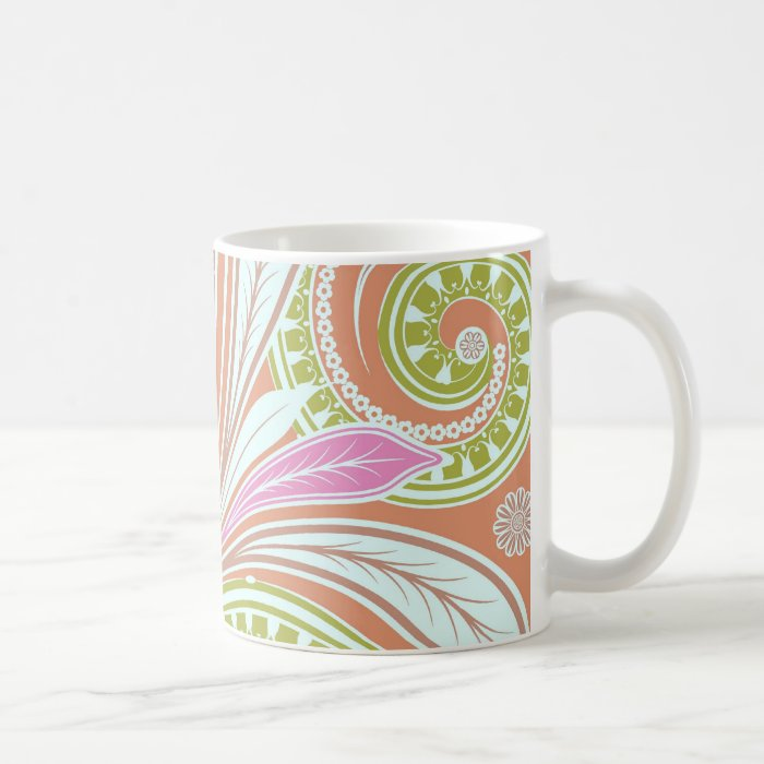 Ellen's Swirls 5 Coffee Mug