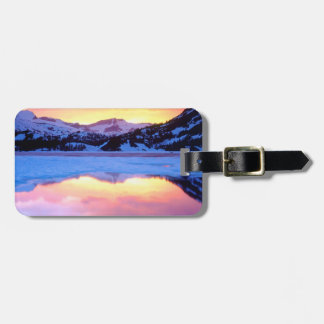 Ellery Lake at Sunset Luggage Tag