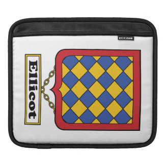 Ellicot Family Crest Sleeves For iPads