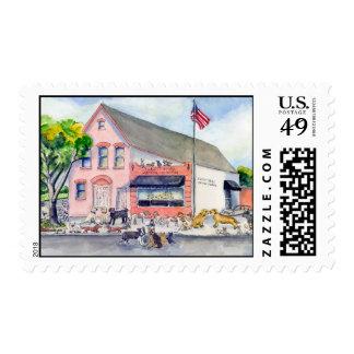 ellicott smll animal hospital stamp