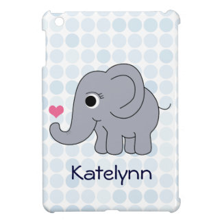 Ellie Elephant iPad Mini Cover