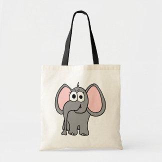 Ellie in Gray Tote Bag