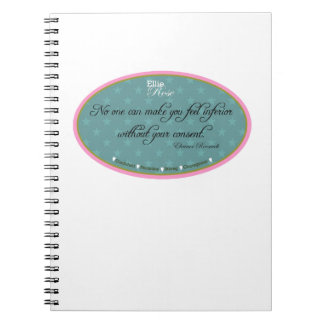 Ellie Rose Favorite Quotes Notebook