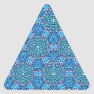 Ellie s Blue and Red pattern Stickers