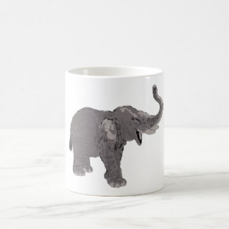 Ellie the Elephant Basic White Mug