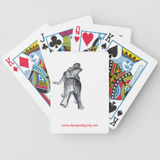 Ellie the Elephant Bicycle Playing Cards