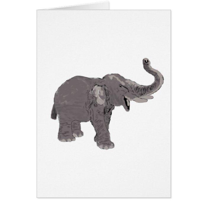 Ellie the Elephant Card