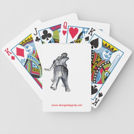 Ellie the Elephant Deck Of Cards