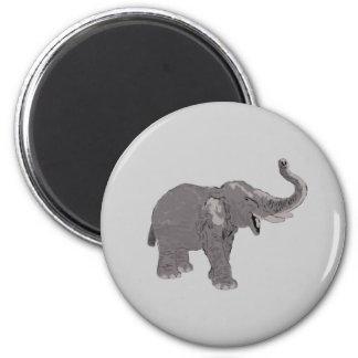 Ellie the Elephant Fridge Magnet