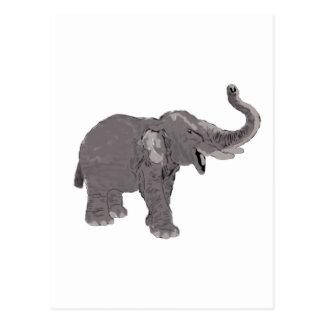 Ellie the Elephant Postcard