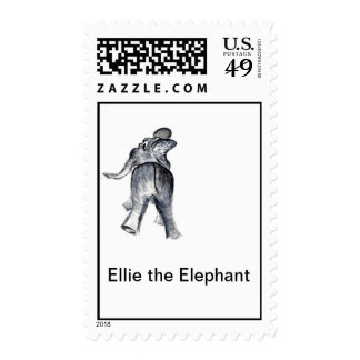 Ellie the Elephant Stamps
