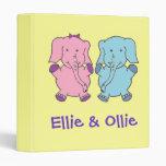 Ellie y elefante de Ollie