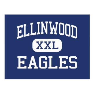 Ellinwood - Eagles - altos - Ellinwood Kansas Tarjetas Postales