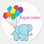 Elliot Balloon Stickers