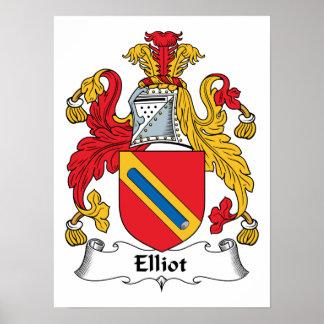 Elliot Family Crest Print