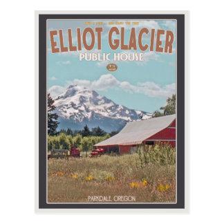Elliot Glacier Public House Postcard