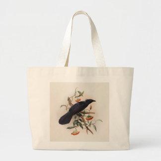 Elliot Manucodia keraudreni - Keraudren's Manucode Jumbo Tote Bag