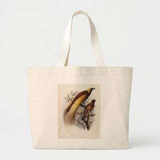 Elliot - Paradisea apoda -Greater Bird Of Paradise Jumbo Tote Bag