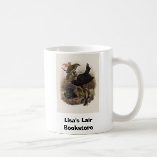 Elliot - Ptilorhynchus violaceus -Satin Bower-bird Coffee Mug