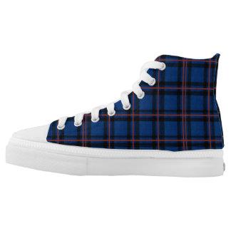Elliot Tartan on a Pair of Sneakers
