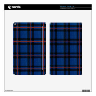 Elliot Tartan Plaid iPhone Cases and Covers Decal For Kindle Fire