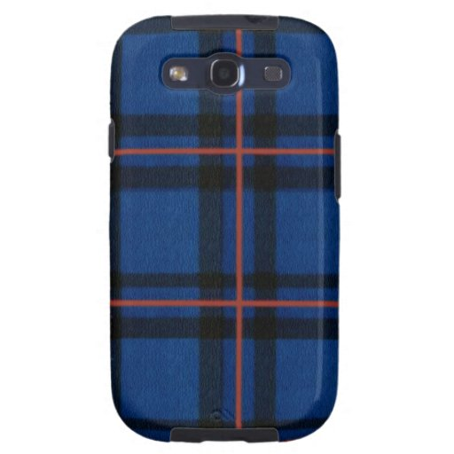 Elliot Tartan Plaid iPhone Cases and Covers Galaxy S3 Cases