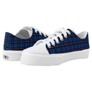 Elliot Tartan Plaid Pattern Low-Top Sneakers