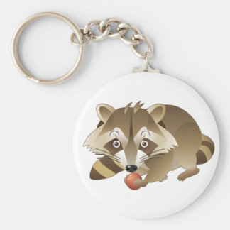 Elliot the Raccoon Keychain