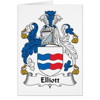 Elliott Family Crest Greeting Card