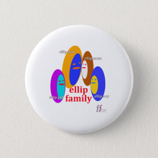 Ellip Family Collaction - ii Designs Pinback Button
