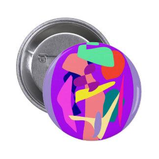 Ellipse 2 Inch Round Button
