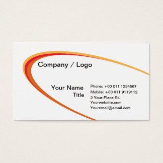Ellipse simple business card