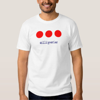 ellipsis shirt