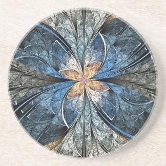 Elliptic Butterfly Ceramic Coaster