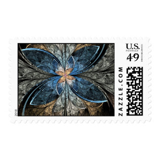 Elliptic Butterfly Postage Stamp