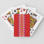 Elliptical Abstract Playing Cards