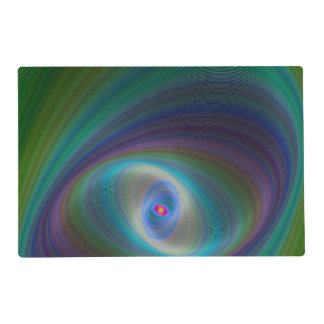 Elliptical eye placemat
