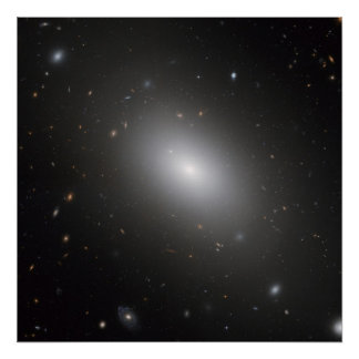 Elliptical Galaxy NGC 1132 Poster