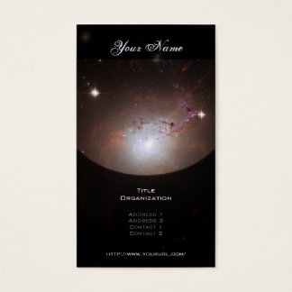 Elliptical Galaxy NGC 1275 - Perseus A Business Card