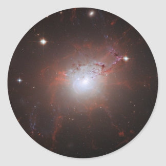 Elliptical Galaxy NGC 1275 - Perseus A Classic Round Sticker