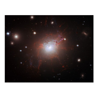 Elliptical Galaxy NGC 1275 - Perseus A Postcard