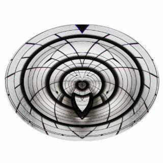 Elliptical Skylite ~ acrylic Statuette